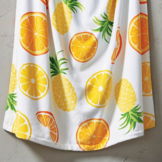 Resort Summer Slice Beach Towel