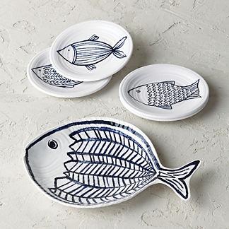Pescado Melamine Collection