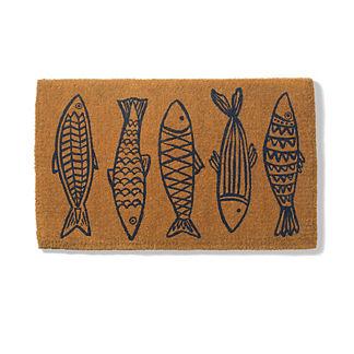 Pescado Coco Door Mat