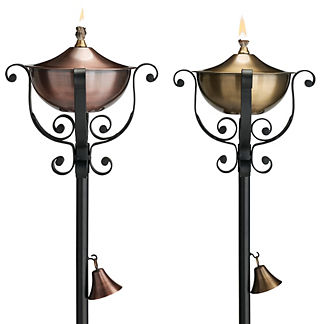 Brandt Torches, Set of Two