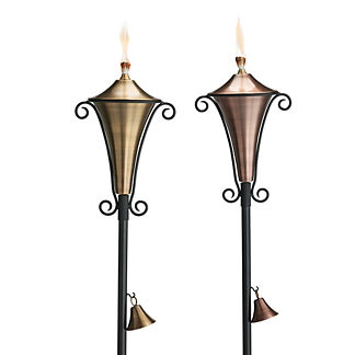 Atley Torches, Set of Two