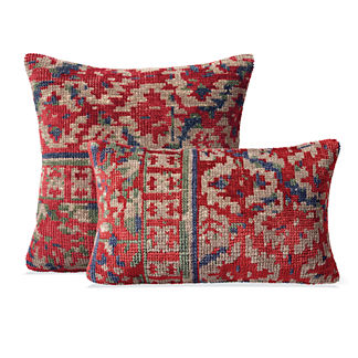 Chalet Hand-knotted Decorative Pillow Covers