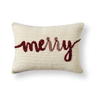 Merry & Bright Lumbar Decorative Pillow Covers