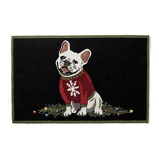 Sweater Pup Door Mat
