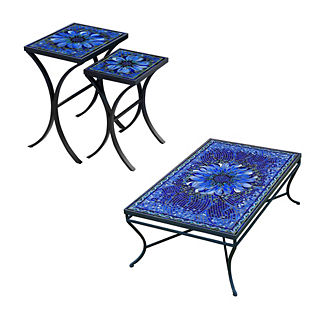 KNF Bella Bloom Nesting Tables, Set of Two