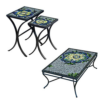 KNF Giovella Nesting Tables, Set of Two
