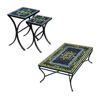 KNF Lake Como Nesting Tables, Set of Two