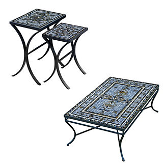 KNF Roma Nesting Tables, Set of Two