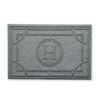 Water & Dirt Shield™ Portico Monogrammed Door Mat