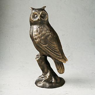 New York Botanical Garden Owl Statue