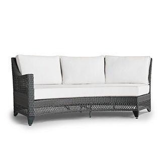 Graham Curved Left-facing Sofa, Special Order