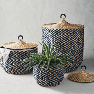 Zelda Lidded Baskets