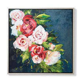 Clara Floral Handpainted Art