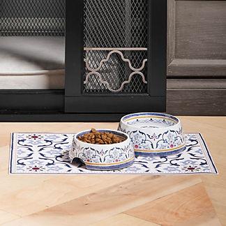Clara Dog Bowls & Placemat