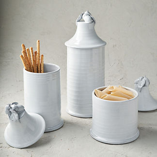 Acorn Lidded Canisters