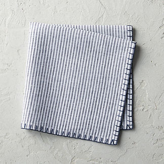 Stripe Linen Napkins, Set of Four