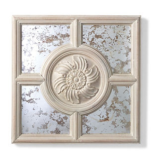 Marco Mirrored Wall Plaque