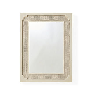 Marion French Cane Wall Mirror
