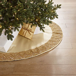 Luxe Embellished Tree Skirt