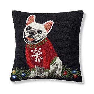 Sweater Pup Indoor/Outdoor Pillow
