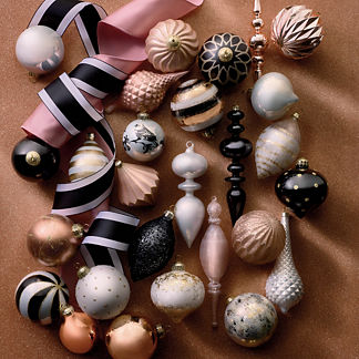 First Blush 40-piece Ornament Collection