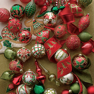 Yuletide Wonder 60-piece Ornament Collection