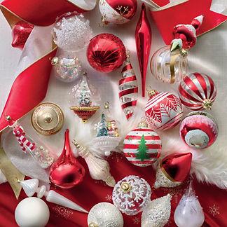 Peppermint Dreams 40-piece Ornament Collection