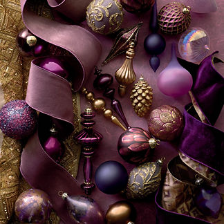 Sugar Plums 40-piece Ornament Collection