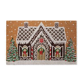 Gingerbread Manor Coco Door Mat