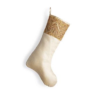 Luxe Embellished Stocking