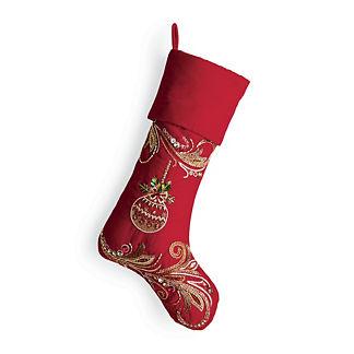 Embellished Ornament Stocking