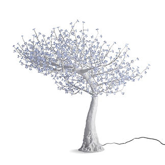 Outdoor Arched Cherry Blossom LED Tree