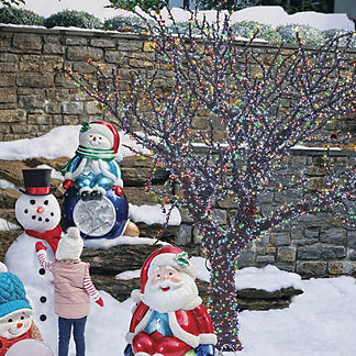 Grand Overlit Color-changing 10 ft. Outdoor Tree