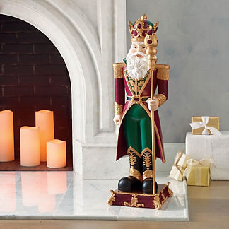 Imperial Santa with Staff Figure