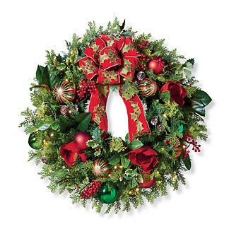 Yuletide Wonder Outdoor Wreath