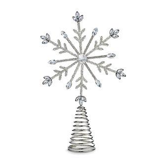 Brilliant Snowflake Tree Topper