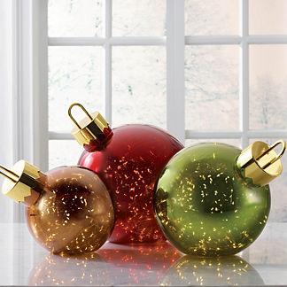 Lighted Christmas Ball