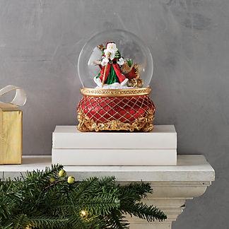 Santa Scene Snow Globe