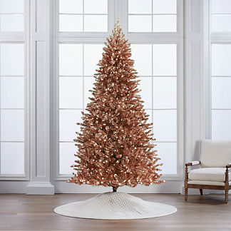 Rose Gold Shimmer Full Profile Tree