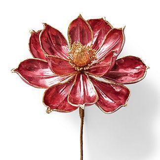 Metallic Magnolia Stem, Set of Six