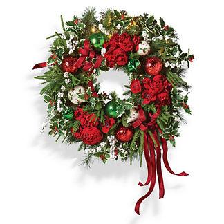 Yuletide Wonder Indoor Wreath