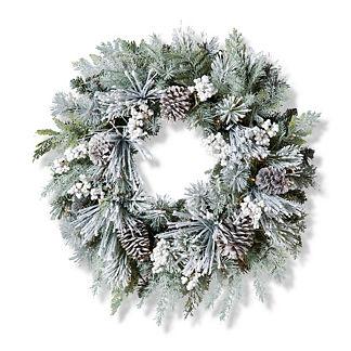 Freshly Fallen Snow Wreath