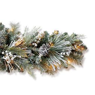 Freshly Fallen Snow Cordless Garland