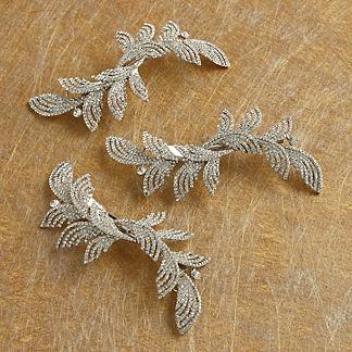 Jeweled Leaf Tree Clip