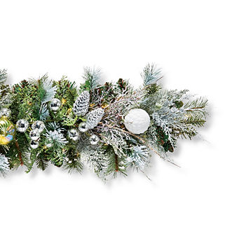 Frosted Nights Indoor Garland