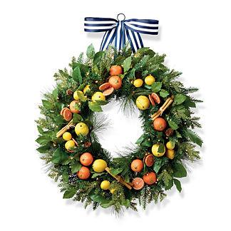 Holiday Grove Wreath