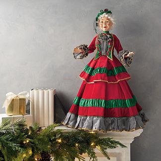 Merry & Bright Mrs. Claus Figure