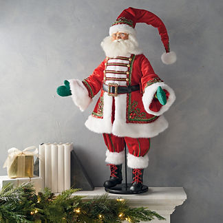 Santa Claus Is Coming to Town Figure