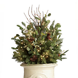 Majestic Holiday Outdoor Urn Filler