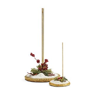 Mark Roberts Snow Base Figure Stand